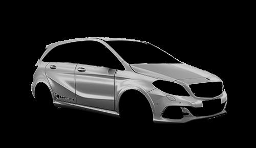 Цвета кузова B-Class Electric Drive (W246)